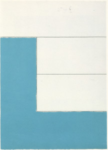 Hlubi  Acrylic paint, conte on Arches paper  1977