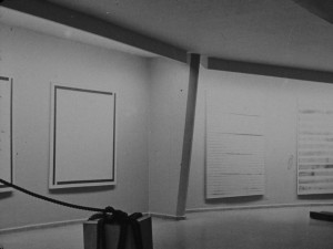 two paintings on the far right (see 1987 Hara Museum exhibition)