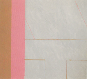 Sanyata within Brown/Gray/Pink 1993 Oil, acrylic on cotton canvas 244cm X 221 cm